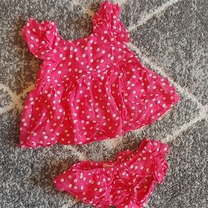 Jessica Simpson Baby Girl Outfit